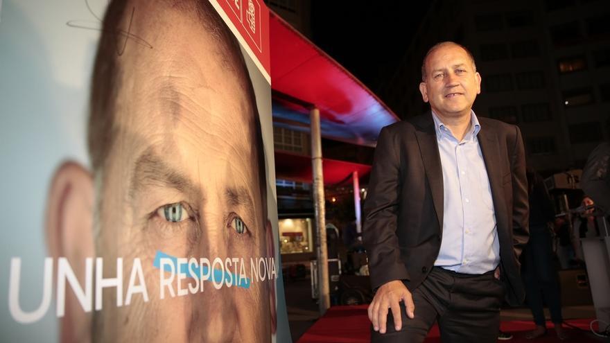 """Leiceaga reivindica que el PSdeG """"tiene que ser el motor del cambio"""", que ve """"perfectamente posible"""""""