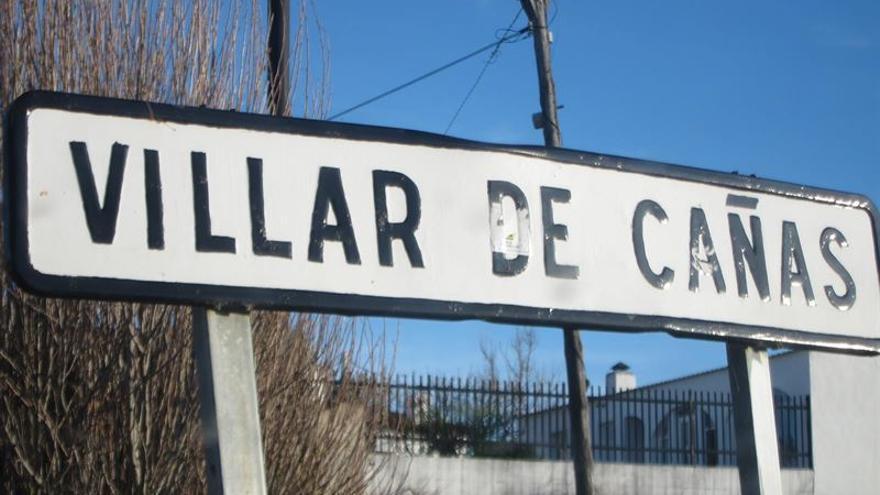 Cartel Villar de Cañas (Cuenca) / Foto: Europa Press