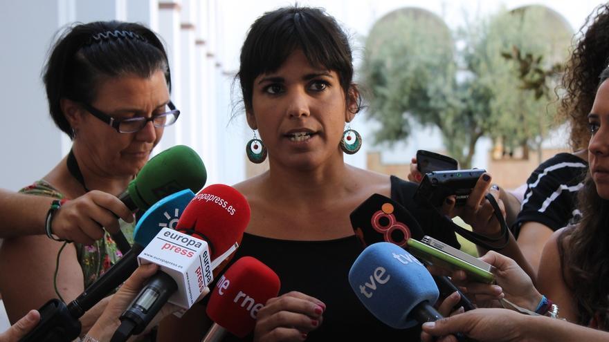 """Teresa Rodríguez destaca que el fichaje del exJEMAD refleja la """"pluralidad"""" que cabe en Podemos"""
