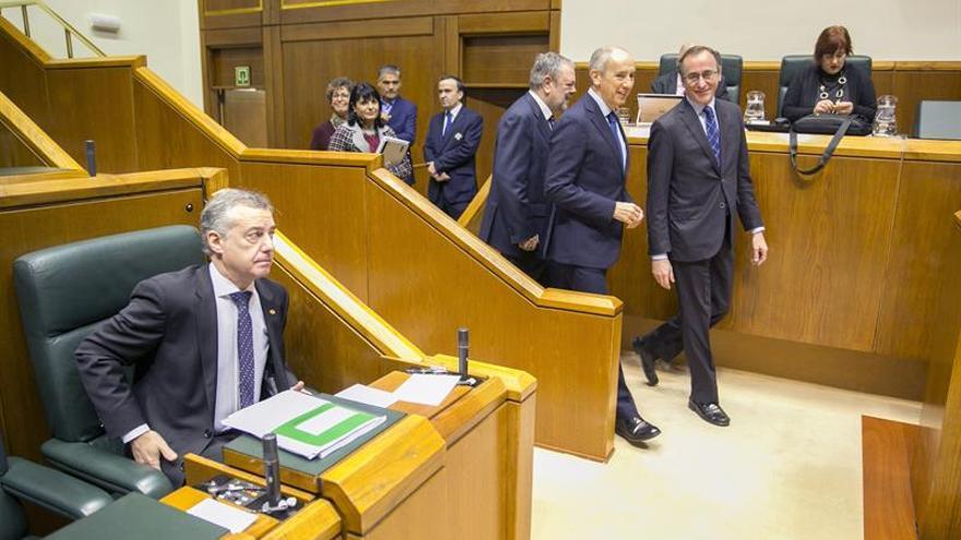 El Parlamento Vasco aprueba el presupuesto de 2018, con la abstención del PP