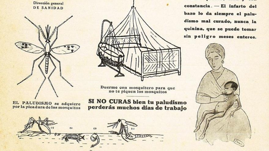 Una de las campañas difundidas entre la ciudadanía para prevenir el paludismo en España
