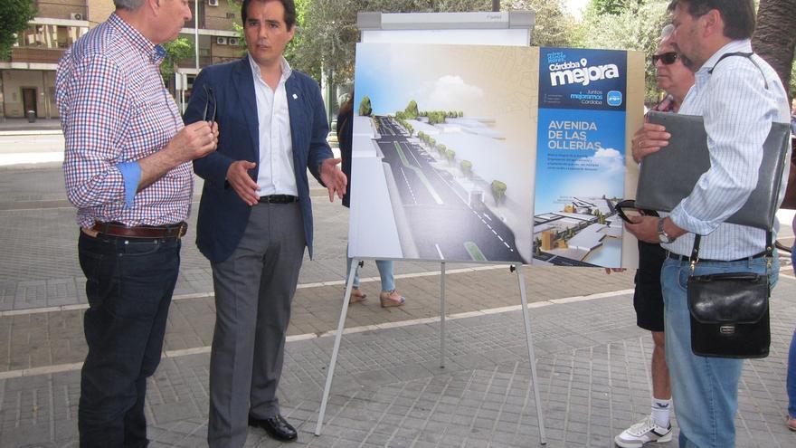 Nieto en uno de los actos electorales que se citan en la denuncia de Ganemos Córdoba por usar el coche oficial.