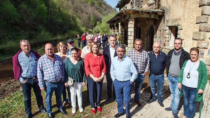 """PRC pide colaboración de Fomento para recuperar La Engaña como """"revulsivo turístico"""" del Pas y Norte de Burgos"""