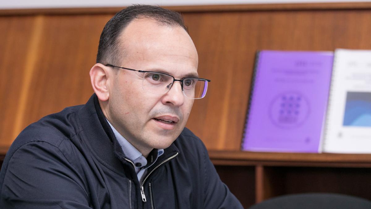 El investigador de la ULL David Díaz, premiado por Real Sociedad de Química