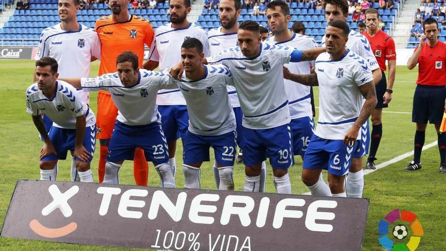 La plantilla del CD Tenerife. (LALIGA)