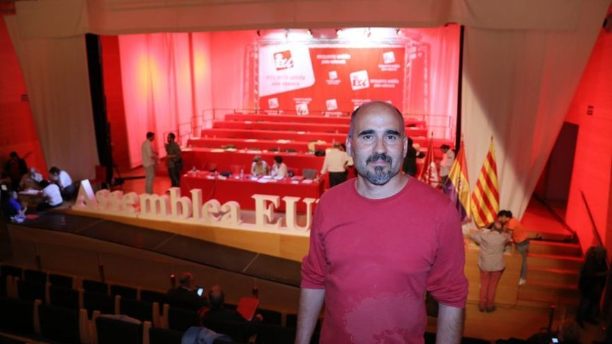 David Rodríguez, coordinador de Esquerra Unida.