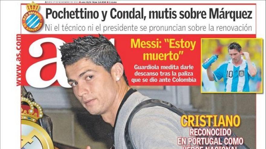 De las portadas del día (17/11/2011) #14