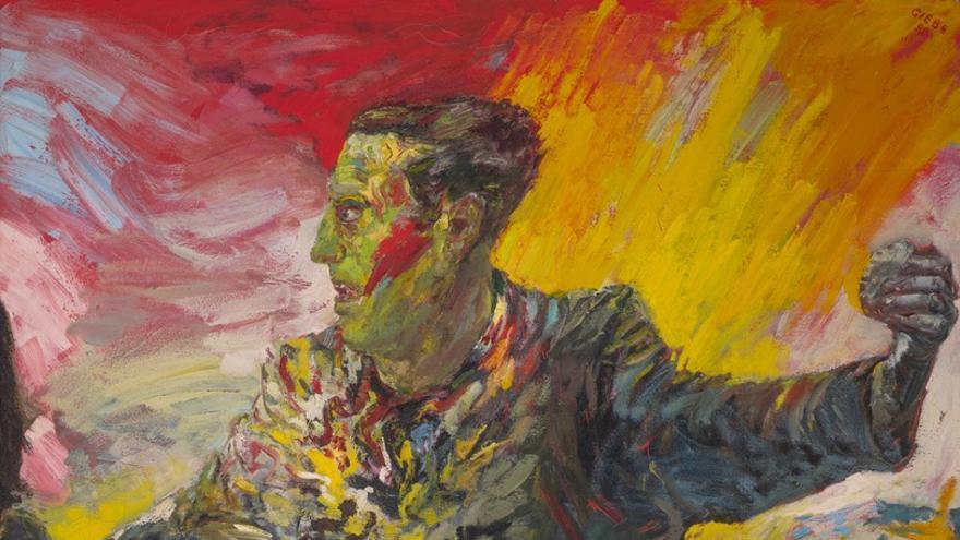 """Hubertus Giebe, """"El Anarquista"""", 1989/19990,"""