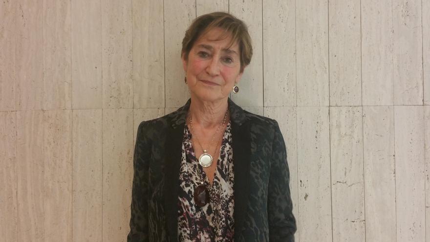 Victoria Ortega es presidenta del Consejo General de la Abogacía Española (CGAE). Foto: LUZ RODRÍGUEZ.