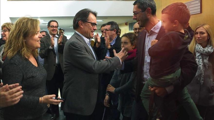 """Mas ve el 9N como un """"éxito total"""" y demuestra que Cataluña quiere """"gobernarse"""""""