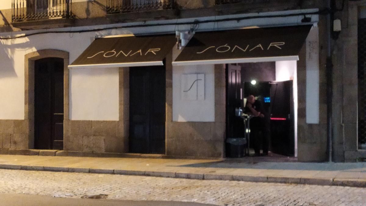 El Sónar, local que hizo la prueba para la reapertura del ocio nocturno en Santiago, durante la experiencia piloto