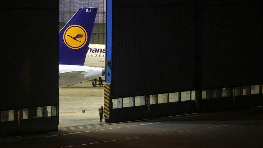 Lufthansa cancela 929 vuelos por la huelga del personal de cabina