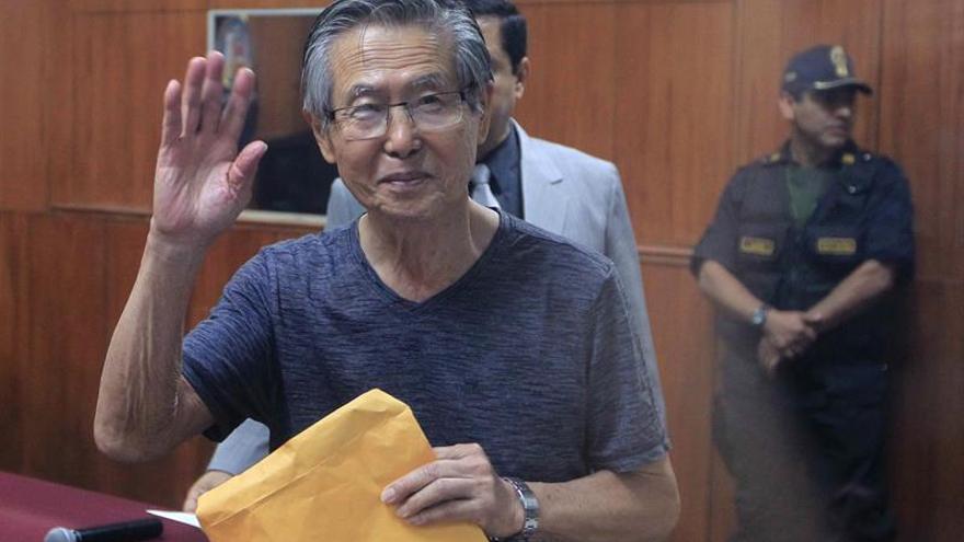 El expresidente Fujimori vuelve a sufrir problemas cardíacos y es internado
