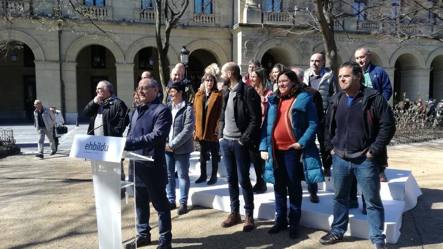 """Izagirre (EH Bildu) apuesta por """"mejorar"""" Gipuzkoa frente a la """"negación de derechos nacionales y los recortes"""""""