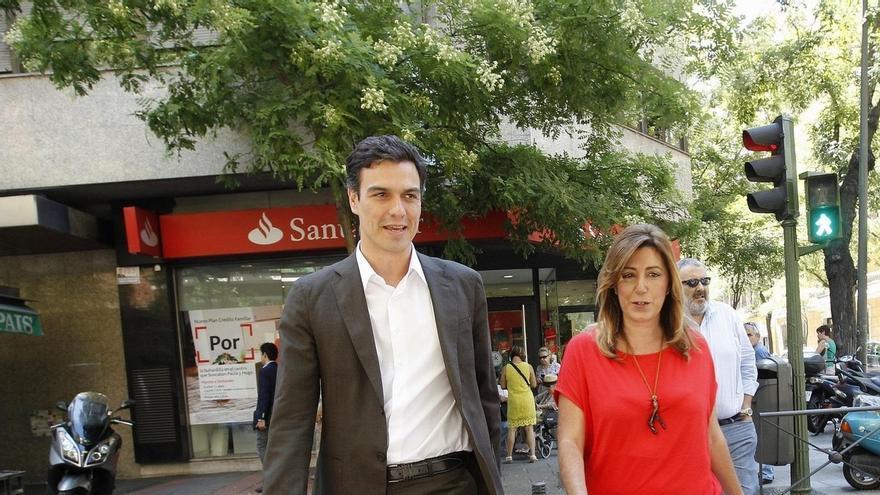 Pedro Sánchez se reunirá mañana con Susana Díaz, después de ver a Carmona, Page, Puig y Vara