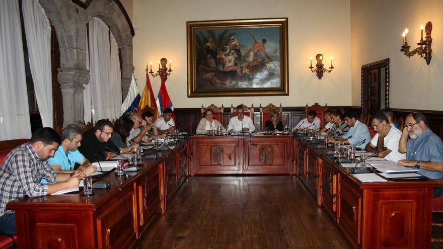 En la imagen, sesión plenaria celebrada este lunes.