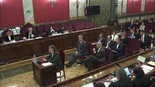 Jordi Cuixart en el Supremo