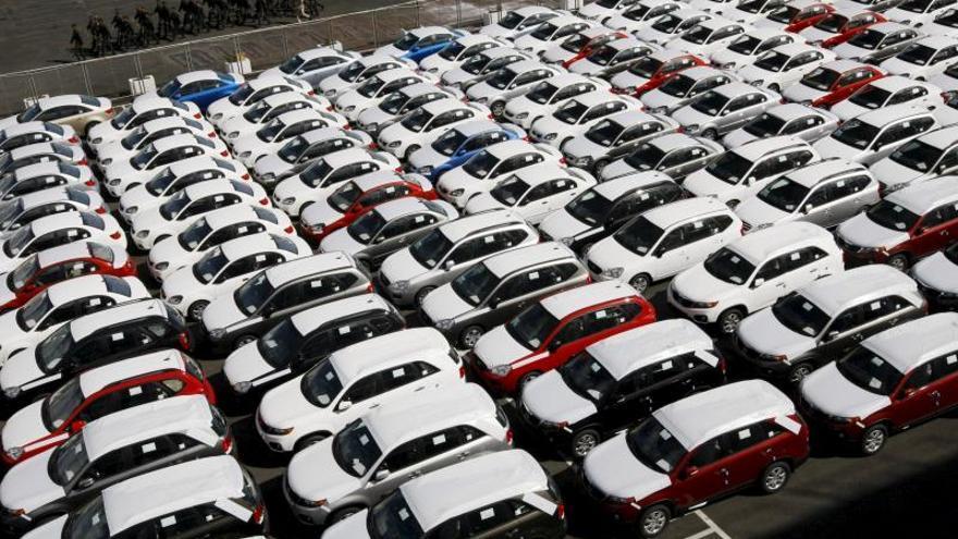 Las matriculaciones de coches caen un 7,4 % en 2019 pese a un buen septiembre