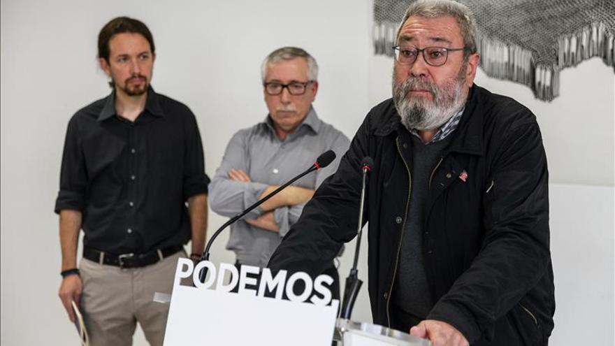 """Cándido Méndez reconoce que la economía crece pero se """"trocea"""" el volumen del trabajo"""