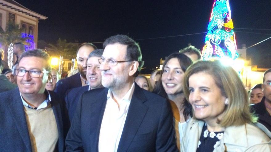 Rajoy verá esta noche en Doñana con su familia el debate a cuatro al que ha enviado a Santamaría
