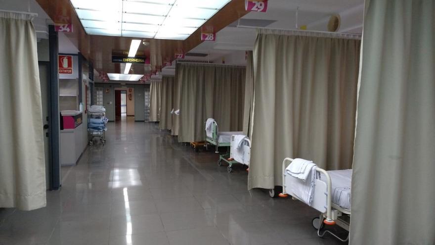 Area de tránsito del Hospital Universitario de Canarias