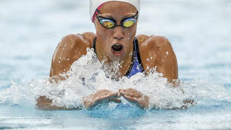 La nadadora del Club Natación Sant Andreu, Jessica Vall