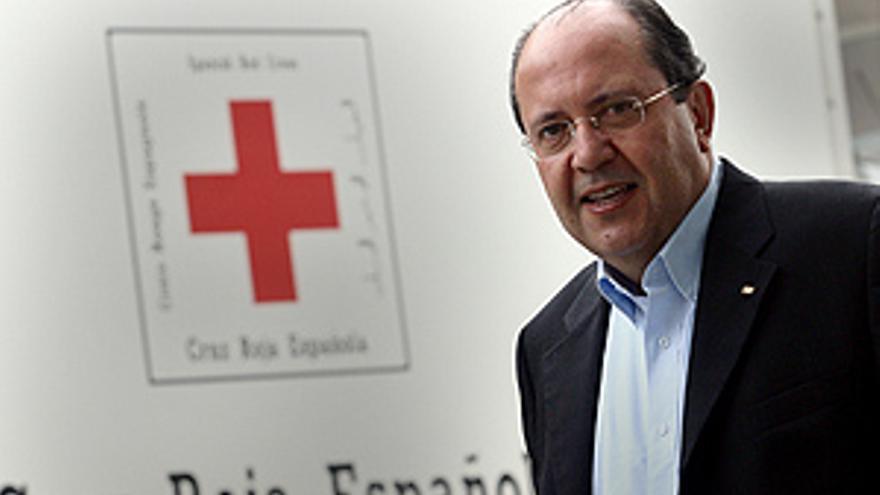 El presidente de la Cruz Roja Española, el canario Juan Manuel Suárez del Toro.