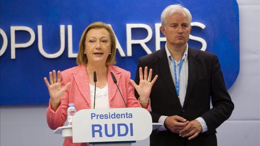 Rudi será senadora autonómica y no se presentará a la reelección en el PP