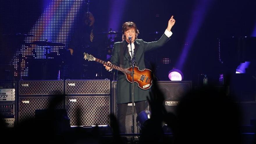 Paul McCartney ofrece su primer concierto en Corea del Sur