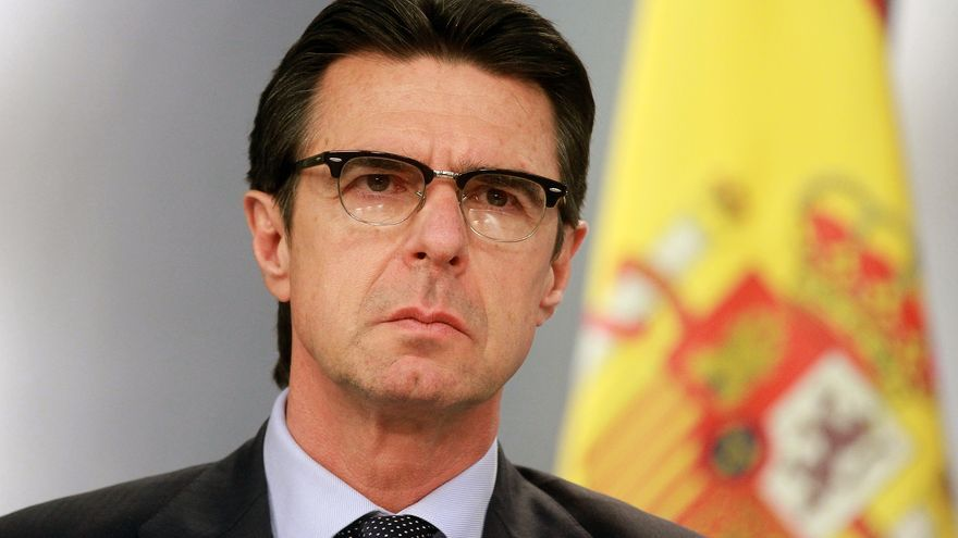 José Manuel Soria, tras un Consejo de Ministros en marzo de 2014. Foto: La Moncloa