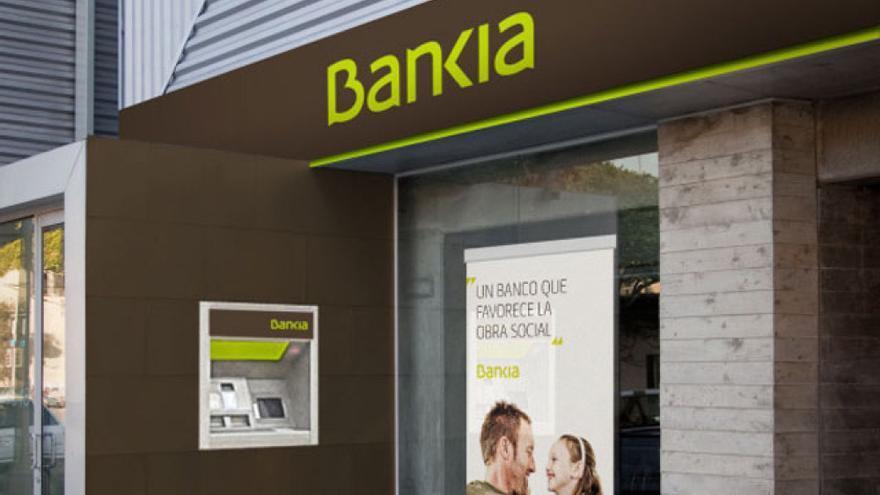 Sucursal de Bankia. (EFE)