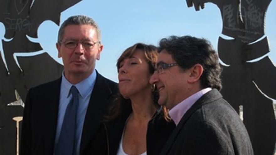 Alberto Ruiz Gallardón, Alicia Sánchez Camacho Y Enric Millo