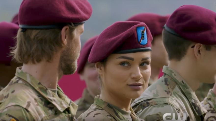La española Christina Ochoa en la serie Valor