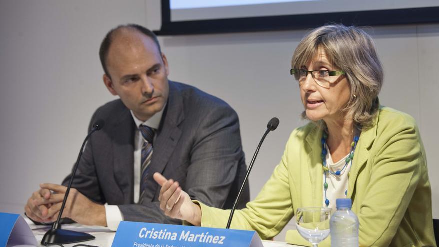 Cristina Martínez, presidenta de la Federación de Asociaciones de Matronas de España (FAME)