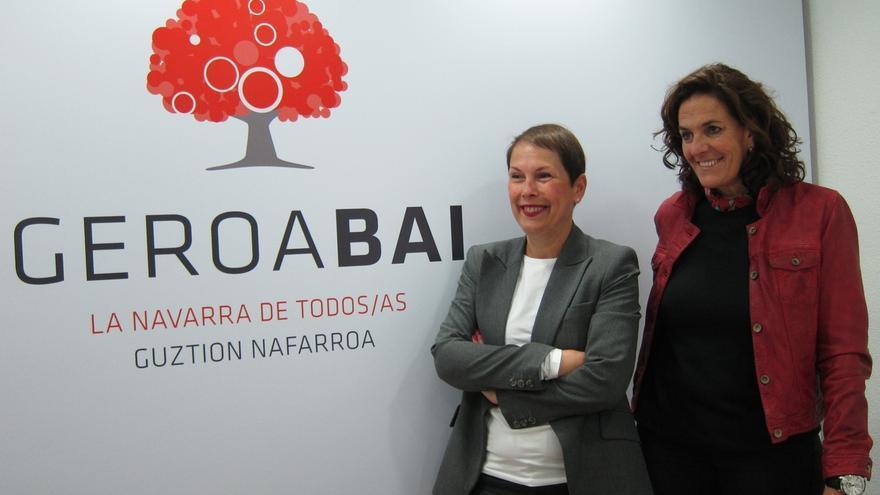 Geroa Bai celebra este domingo en Pamplona un acto para presentar a Uxue Barkos e Itziar Gomez como candidatas