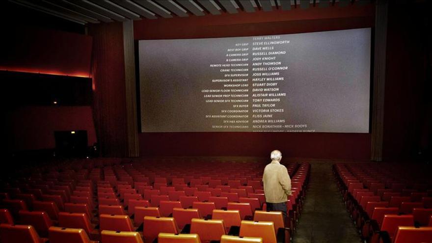 La cuota de pantalla del cine español aumentó hasta un 19,5 por ciento en 2012