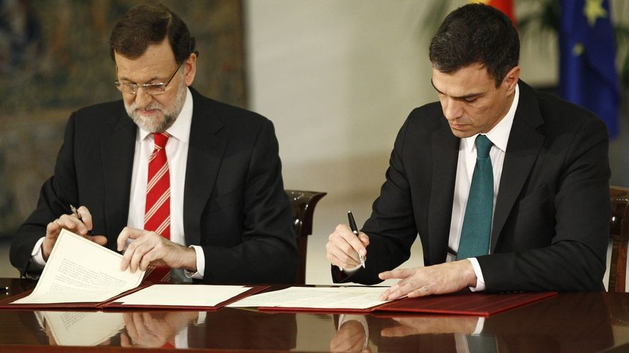 PP, PSOE y UPyD ven un error que Podemos no se sume al pacto antiyihadista y le urgen a rectificar