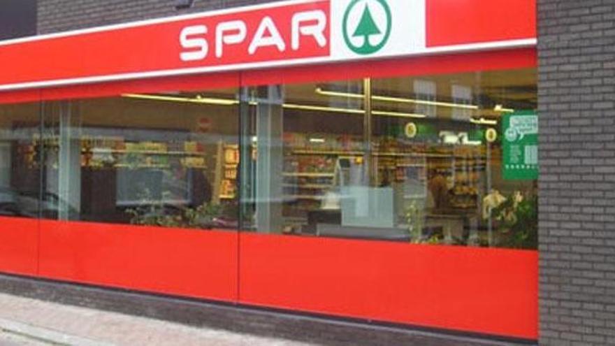 Imagen de archivo de un supermercado Spar.