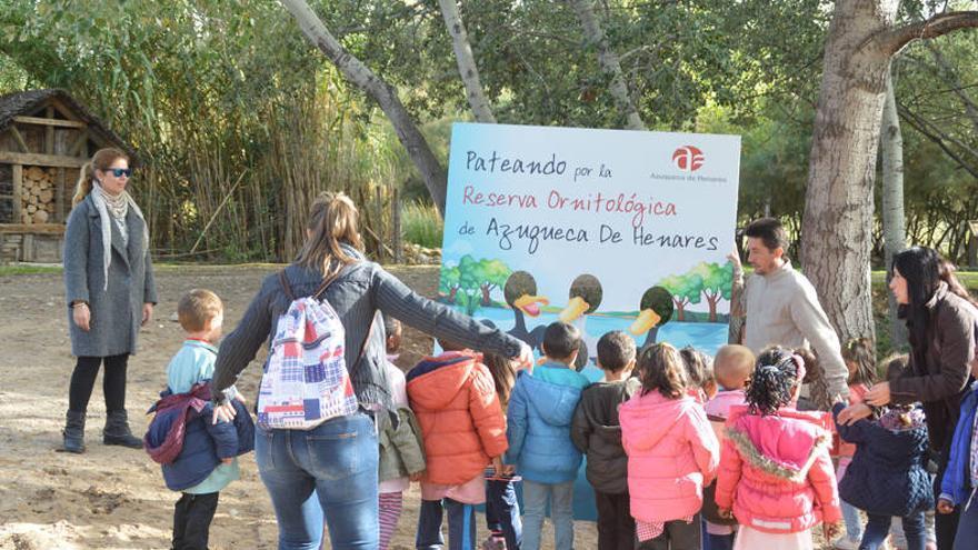 Visita del Colegio Virgen de la Soledad al Centro de Interpretación FOTO: Álvaro Díaz-Villamil