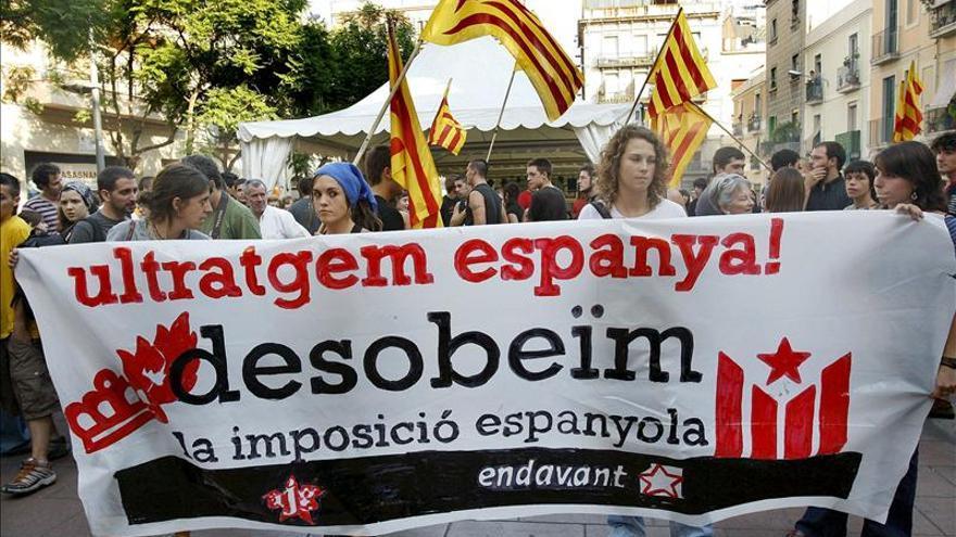 Un 37 por ciento de los catalanes a favor de un Estado que contemple la independencia