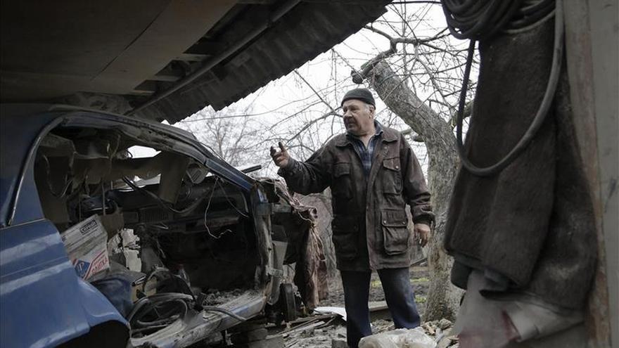 Cinco civiles muertos en Donetsk por fuego de la artillería ucraniana