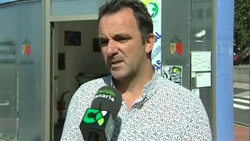 David Ruiz Álvarez, concejal de Turismo, Desarrollo local y Seguridad del Ayuntamiento de la Villa y Puerto de Tazacorte.