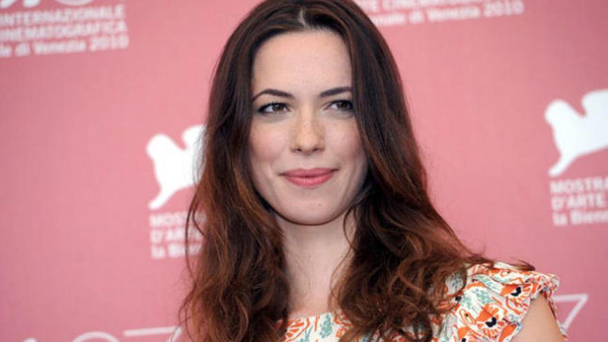 La actriz Rebeca Hall