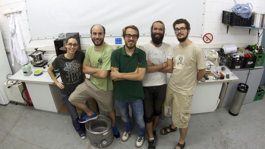 De izqda. a dcha.: Nuria Conde, Esteban Martín, Alvaro Jansà, Daniel Grajales y Rosen Ivanov