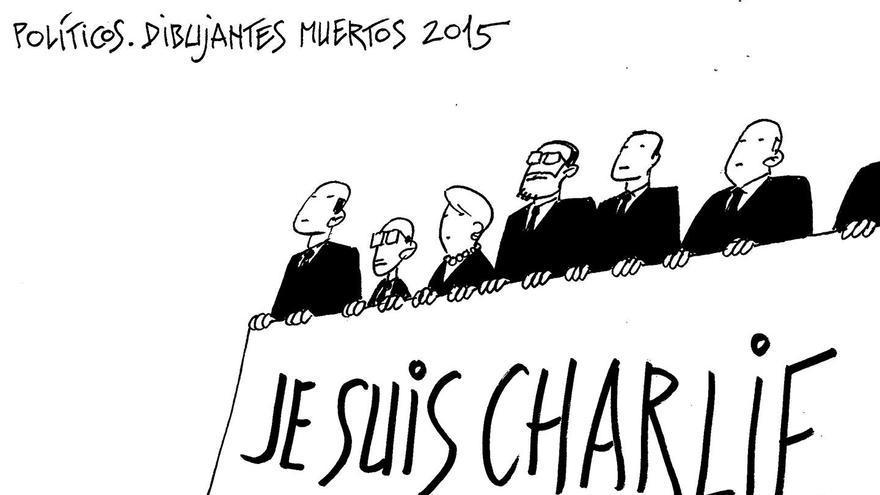 """""""Je suis..."""". Los políticos y el drama de los refugiados"""