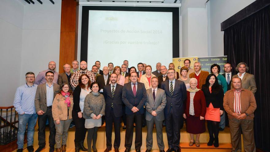 Fundación la Caja de Canarias y Bankia colaboran con 25 proyectos sociales en Canarias.