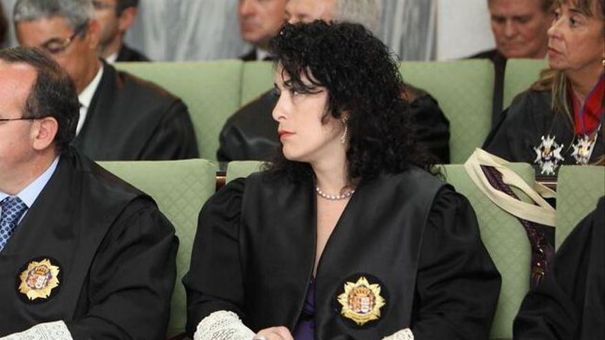 La juez María de los Ángeles Zabala (ARCHIVO DE CANARIAS AHORA)