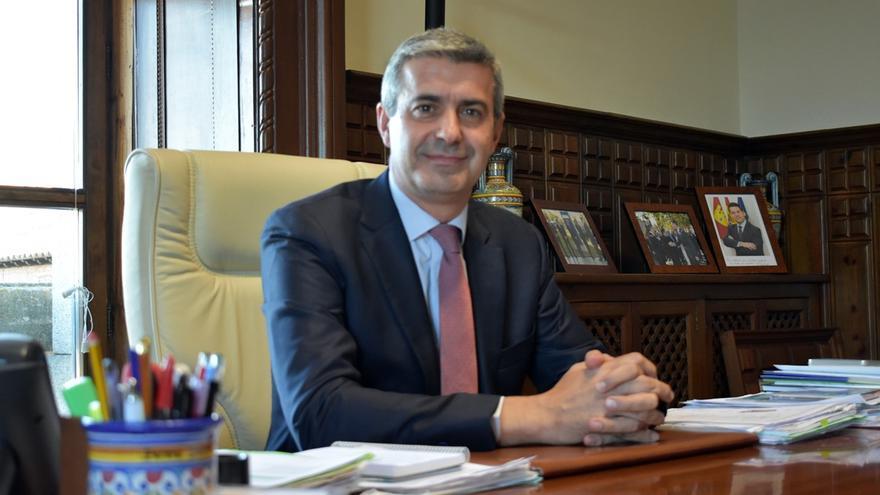El presidente de la Diputación de Toledo, Álvaro Gutiérrez / Fotografía: Bárbara D. Alarcón
