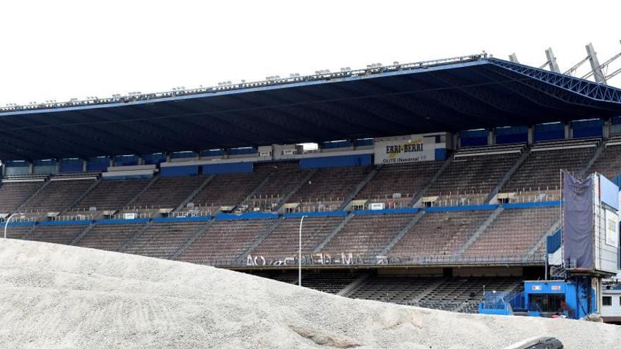 La M-30 cruzará desde este lunes el estadio Vicente Calderón