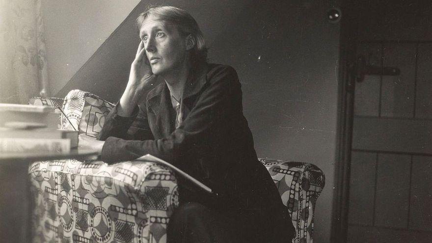 Retrato de Virginia Woolf en su madurez. (DP).